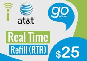 Picture of at&t go phone $25.00 - RTR