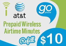 Picture of at&t go phone $10.00