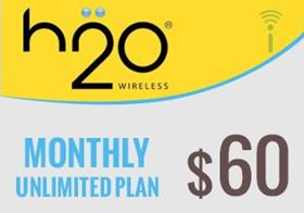 Picture of H2O Monthly Unlimited Plan $60.00