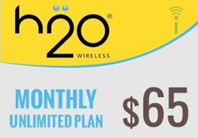 Picture of H2O Monthly Unlimited Plan $65.00