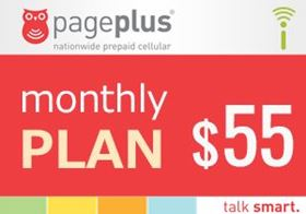 Picture of Page Plus Monthly $55