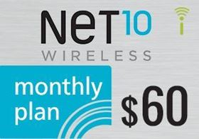 Picture of Net10 Monthly Plan $60.00