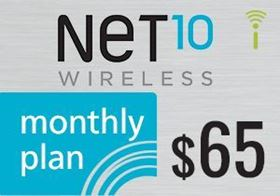 Picture of Net10 Monthly Plan $65.00