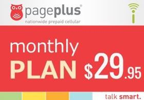Picture of Page Plus Monthly $29.95