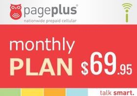 Picture of Page Plus Monthly $69.95