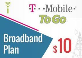 Picture of T-Mobile Broadband Plan $10.00