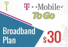 Picture of T-Mobile Broadband Plan $30.00