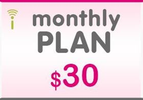 Picture of T-Mobile Monthly Plan $30.00