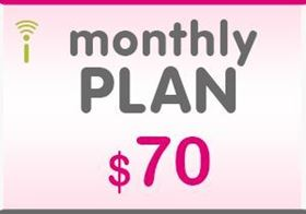 Picture of T-Mobile Monthly Plan $70.00