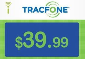 Picture of TracFone $39.99