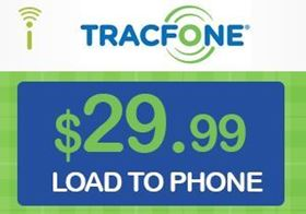 Picture of TracFone $29.99 - Load To Phone
