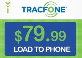 Picture of TracFone $79.99 - Load To Phone
