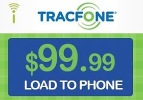Picture of TracFone $99.99 - Load To Phone