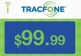 Picture of TracFone $99.99