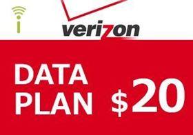 Picture of Verizon Data Plan $20.00
